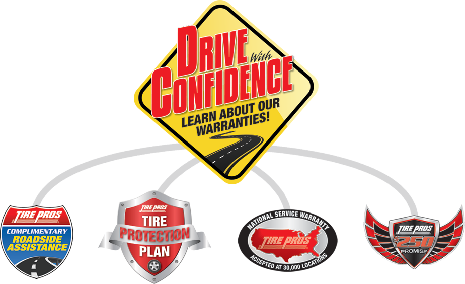 Tire Pros Drive With Confidence Guarantee at Standridge Tire Pros in Pauls Valley, OK